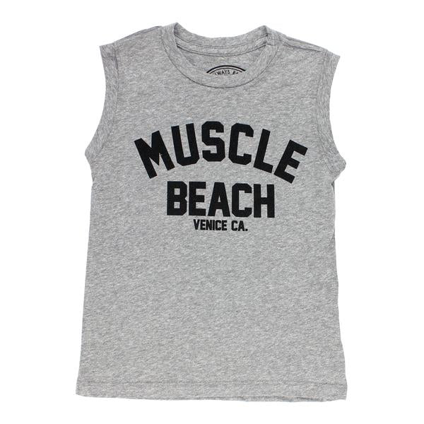 1f0fe3b93 Tiny Whales. Muscle Beach