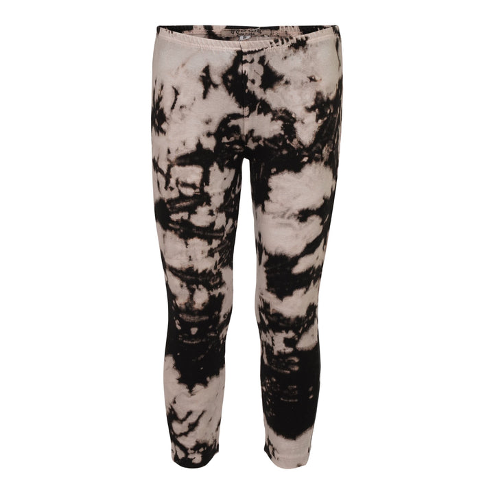 Black & White Tie Dye Legging