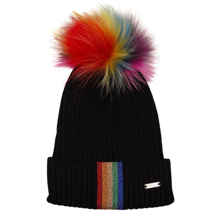 Multi Color Fur Taping Hat