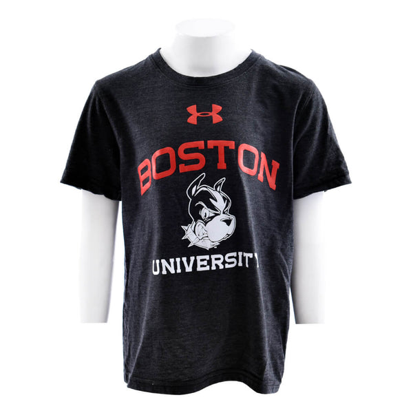 Boston University Short Sleeve Triblend Tee