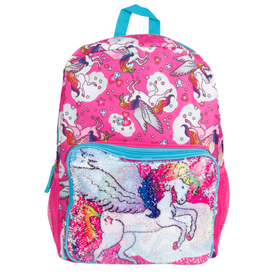 Unicorn Magic Sequin Pocket Backpack