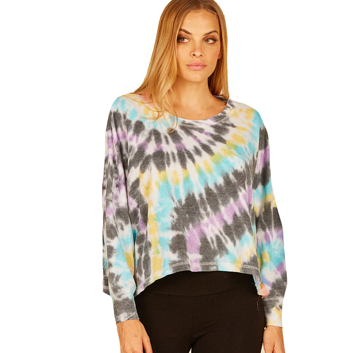 Multi Swirl Tie Dye Thermal