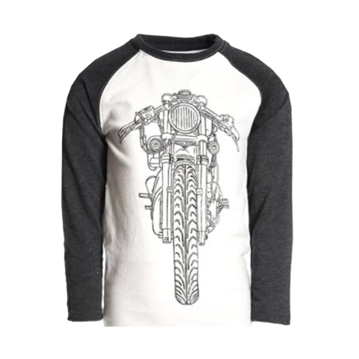 Lets Ride Raglan Long Sleeve Shirt