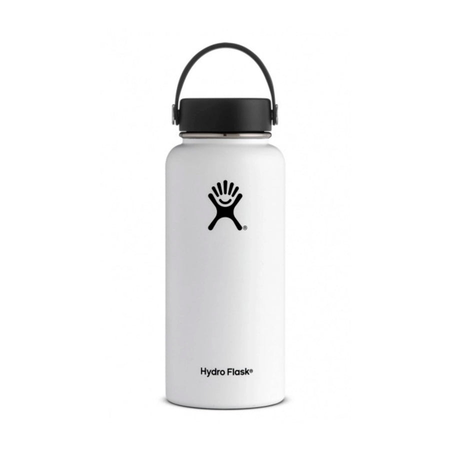 32oz White - Wide Mouth Hydro Flask Bottle