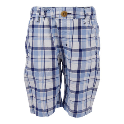 Chambray Plaid Short