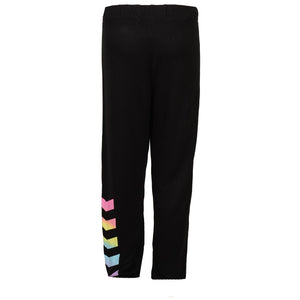 Sweatpants with Tie Dye Chevron Down Leg