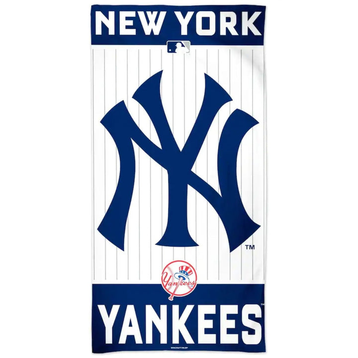Yankees Beach Towel