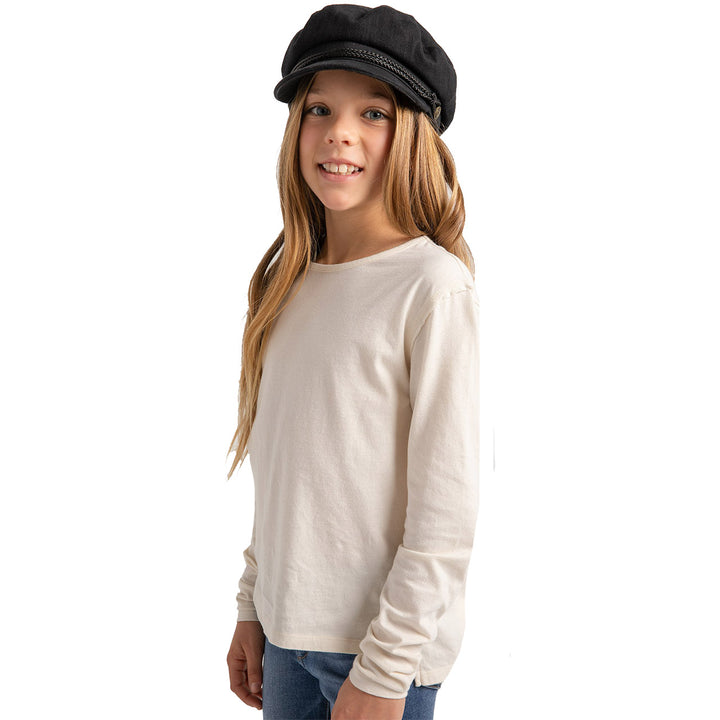 Mina Organic Long Sleeve Top