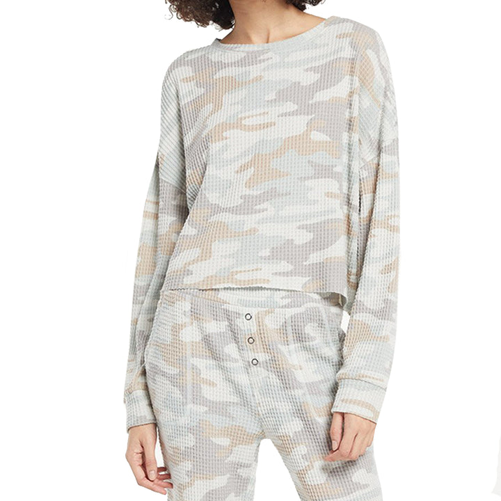 Celine Camo Long Sleeve Shirt