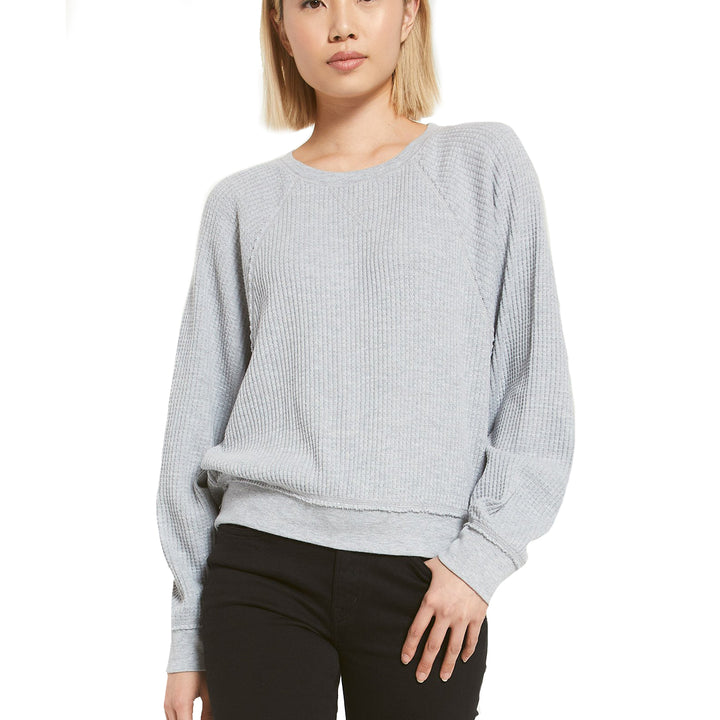 Claire Waffle Dolman Sleeve
