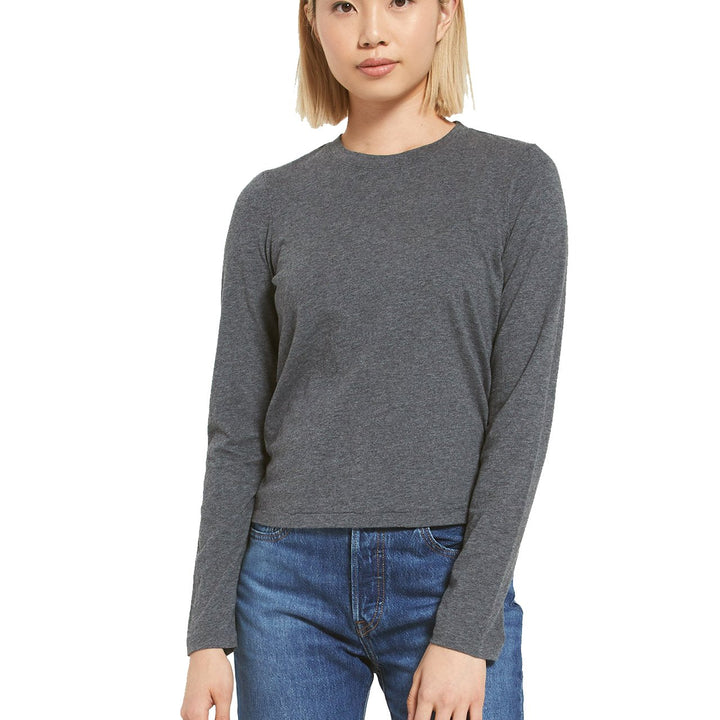 Modern Heather Long Sleeve Crew