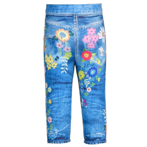 Legging with Flowers
