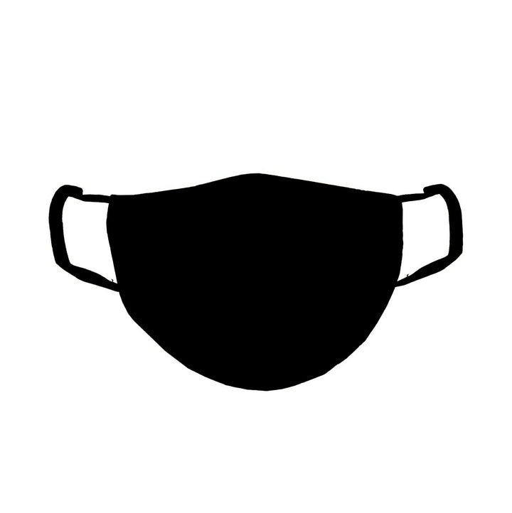 Black Adult Mens Mask