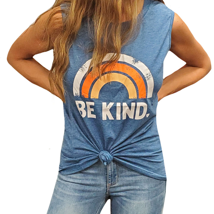 Be Kind Rainbow Tank