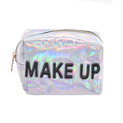 Irridescent Make Up Cosmetic Bag