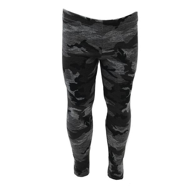 Legging Black Grey Camo