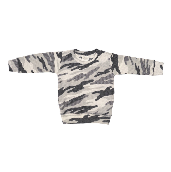 Brushed Black Camo Sweatshirt