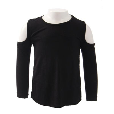 Long Sleeve Cold Shoulder