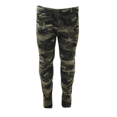 Legging Green Distressed Camo