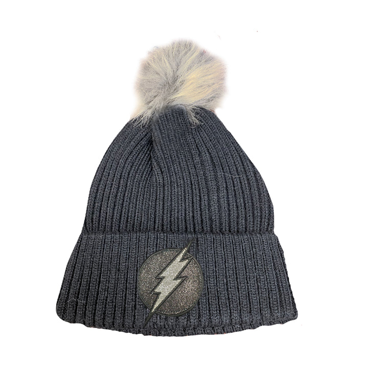 Circle Bolt Pom Hat