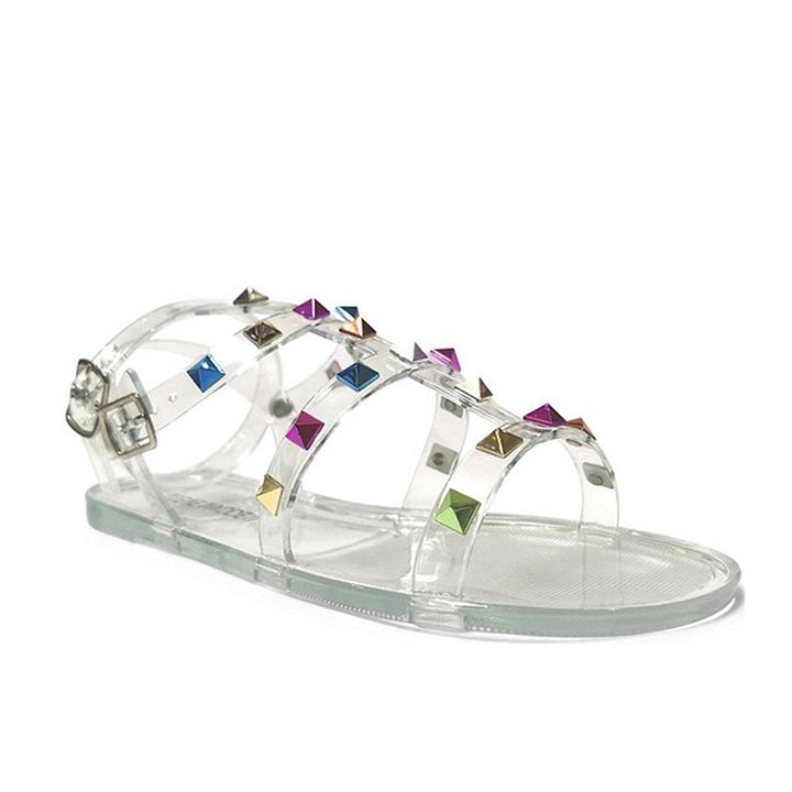 Gladiator Sandal with Jelly Upper