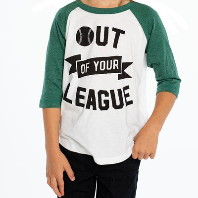 Out Of Your League Raglan