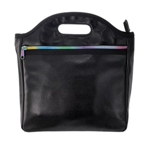 Black Metallic Lunch Tote