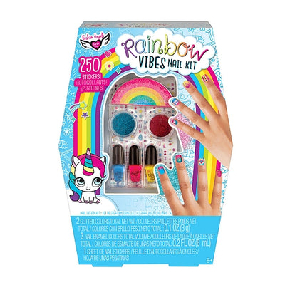Rainbow Vibes Nail Kit