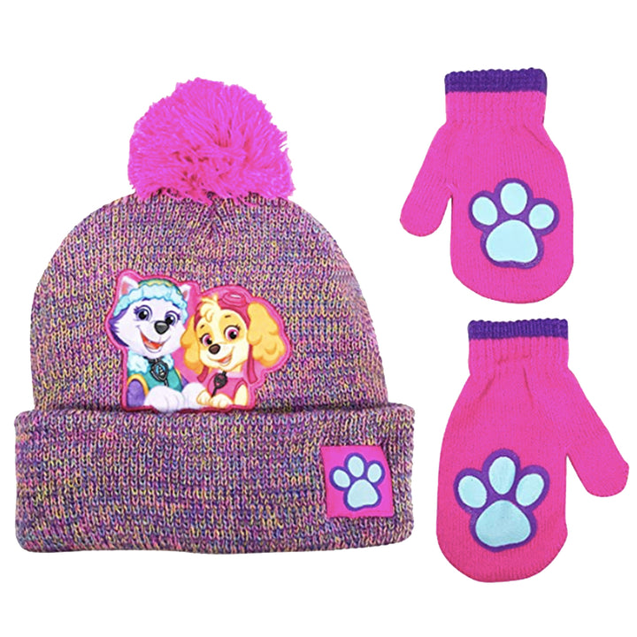 Girl Paw Patrol Hat and Glove