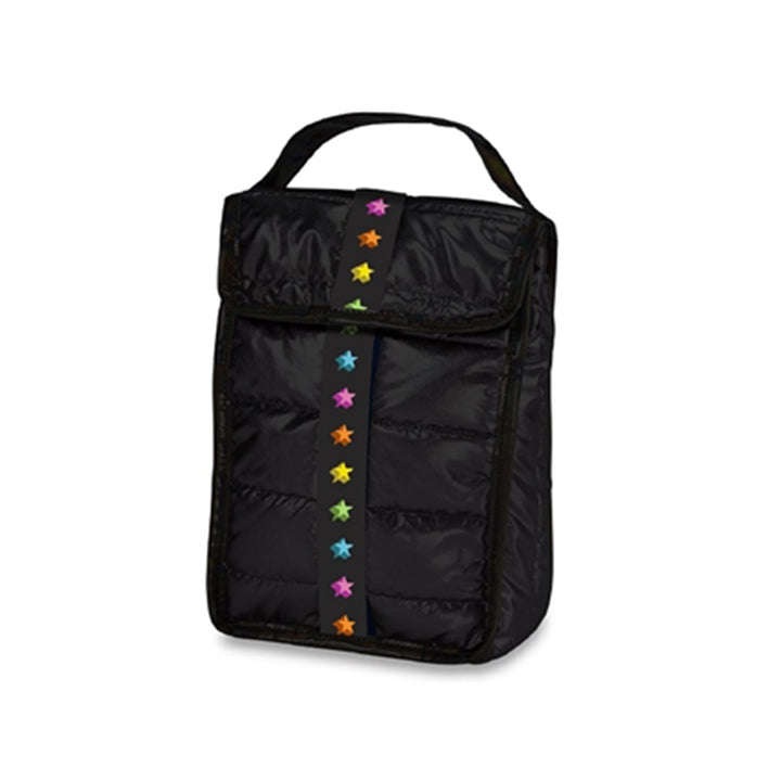 Black Puffer Stars Snack Bag