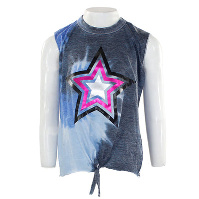 Ocean Tank with Large Foil Star On Front