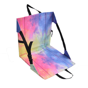Marbleized Tie Dye Chair