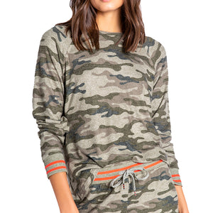 Camo in Command Long Sleeve Top