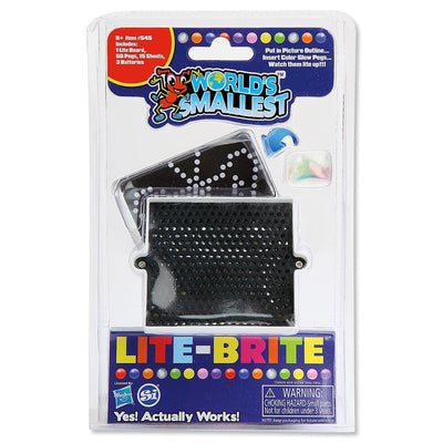 Worlds Smallest Lite Brite