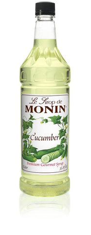 Monin® Syrups - Cucumber - Case of 6/1 Liter - Bulk Coffee Beans