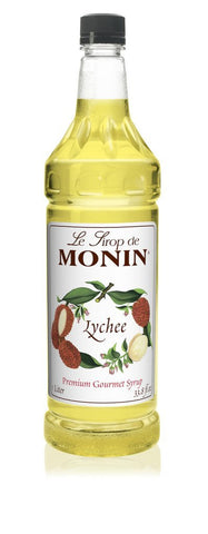 Monin® Syrups - Lychee - Case of 6/1 Liter - Bulk Coffee Beans
