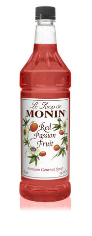 Monin® Syrups - Red Passion Fruit - Case of 6/1 Liter - Bulk Coffee Beans