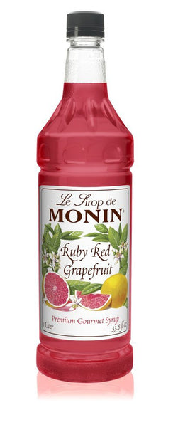 Monin® Syrups - Ruby Red Grapefruit - Case of 6/1 Liter - Bulk Coffee Beans