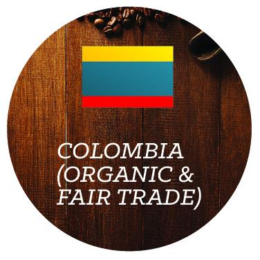 Colombia (Organic & Fair Trade) - Java Bean Plus