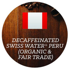 Decaffeinated - Swiss Water®  Peru (Organic & Fair Trade) - Java Bean Plus
