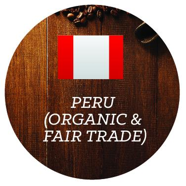 Peru (Organic & Fair Trade) - Java Bean Plus