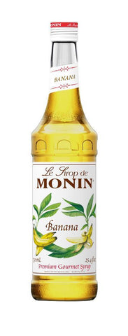 Monin® Syrups - Banana - Case of 6/750 mL - Java Bean Plus