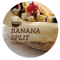 Banana Split Flavored Coffee Beans