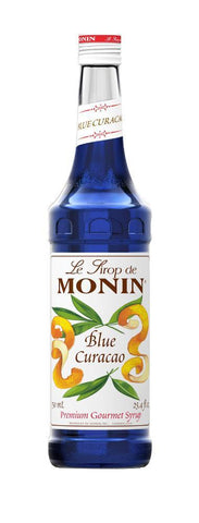 Monin® Syrups - Blue Curacao - Case of 6/750 mL - Java Bean Plus