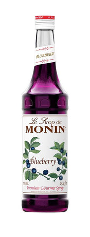 Monin® Syrups - Blueberry - Case of 6/750 mL - Bulk Coffee Beans