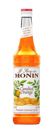 Monin® Syrups - Candied Orange - Case of 6/750 mL - Bulk Coffee Beans