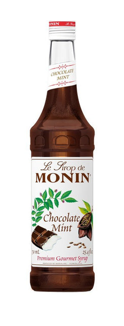 Monin® Syrups - Chocolate Mint - Case of 6/750 mL - Bulk Coffee Beans