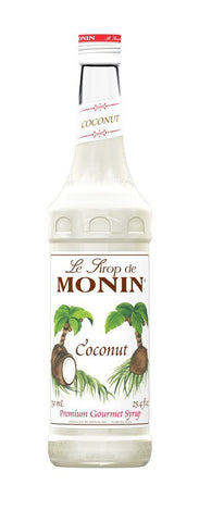 Monin® Syrups - Coconut - Case of 6/750 mL - Bulk Coffee Beans