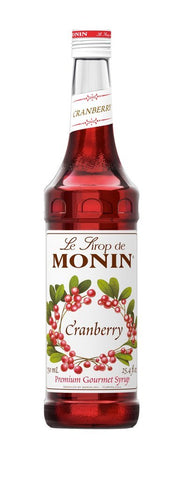 Monin® Syrups - Cranberry - Case of 6/750 mL - Bulk Coffee Beans