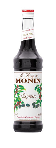 Monin® Syrups - Espresso - Case of 6/750 mL - Bulk Coffee Beans